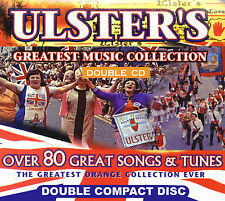 "ULSTER'S GREATEST MUSIC COLLECTION ""2 CD's""  "" NEW* - LOYALIST/ULSTER/ORANGE CD*"
