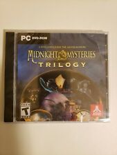 Atari Midnight Mysteries Trilogy 3 Games PC DVD-ROM Hidden Object Games New