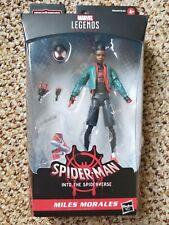 "Marvel Legends 6"" Spider-Man Into The Spider-Verse MILES MORALES (+ Jordan's)"