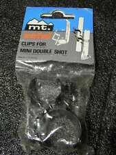 NOS MT. ZEFAL clips Klammern Luftpumpe double shot pump holder Pumpe Halter