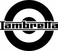 Lambretta Sticker - Lambretta Scooter Sticker decal graphic Vinyl x 1