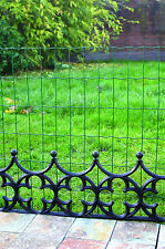 3ft High Heavy Duty PVC Coated Garden Wire Fencing