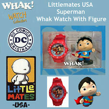 Littlemates USA Superman Whak! Watch With Figure
