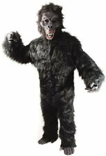 COMPLETE GORILLA Costume SCARRY MONKEY APE MASCOT SUIT professional adult new