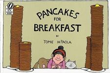 Pancakes for Breakfast a paperback book by Tomie dePaola FREE SHIPPING Tommy