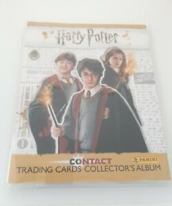 Harry Potter Contact Trading Cards With Binder From Panini - 68 Cards No Doubles