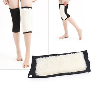 Non Slip Thermal Knee Brace Knee Support 1Pair Support Braces Warm Kneepad AA