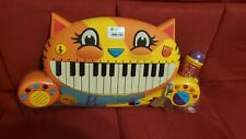 B. Toys Meowsic Musical Keyboard Microphone Piano Playing Toy- NIB