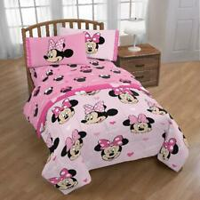 Minnie Mouse Room in a Box Set, Includes Bedding Set and Drapes, Twin