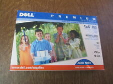 DELL Premium 4 X 6 Gloss Photo Paper~100 count / 10 MIL.