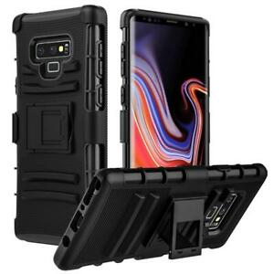 NEW Heavy Duty Shockproof Holster Clip Belt Case Cover For Samsung Galaxy Note 9