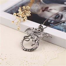 COLLANA FILM GAME OF THRONES DE LUXE COSPLAY DAENERYS TARGARYEN TRONO DI SPADE
