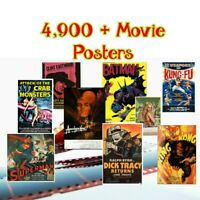 Movie Poster collection - over 4,900 cinema movie posters (English Films)