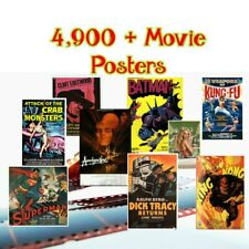 Ultimate Movie Poster collection  - over 4,900 cinema  posters (English Films)