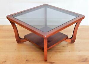 1970's Retro Danish style square Coffee Table MCM G-Plan style 73 x 73 cm