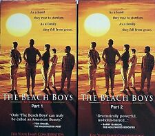 THE BEACH BOYS AN AMERICAN FAMILY, 2 vhs videos, FREDERICK WELLER, KEVIN DUNN