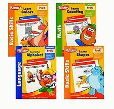 Playskool PreK Preschool Basic Skills Workbooks 4-pack