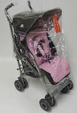 """RAINCOVER RAIN COVER TO FIT """"BABY JOGGER CITY MINI ZIP"""" BUGGY PUSHCHAIR STROLLER"""