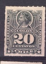 CHILE 1880 Roulets Sc.31 20 cts gray MH