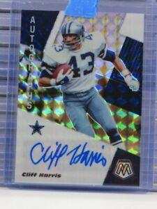 2020 Mosaic Cliff Harris Auto Autograph Cowboys H32