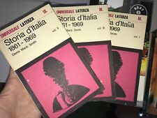 DENIS MACK SMITH - STORIA D'ITALIA 3 VOLUMI - LATERZA - 1973