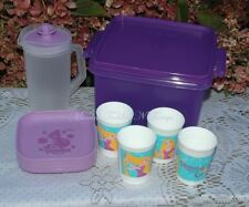TUPPERWARE KIDS DISNEY TANGLED RAPUNZEL MINI PICNIC SET JUG CUPS PLATES