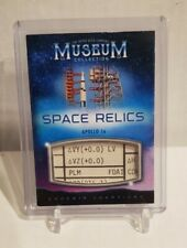 2020 Goodwin Champions Museum Collection Space Relics Apollo 16 Data Card Book