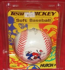 "t5* Hutch / Disney Team Mickey 3.5"" Inch Soft Stuffed Baseball"