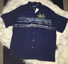 Tori Richard Soul Sail Men's 2XL XXL Relaxed Shirt Button Up MSRP $158