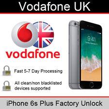 Vodafone UK iPhone 6s Plus Factory Unlocking Service