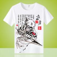 New Anime Hatake Kakashi Unisex Cool Otaku Casual T-shirt Tops Tee Short Sleeve