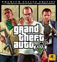 Grand Theft Auto V (GTA V): Premium Online Edition - PC Game Rockstar Key GLOBAL