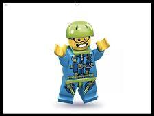 Lego Sky Diver Minifig - Series 10