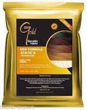 Keratina Oro ™ 50g Pelo Negro fibras Recarga pérdida de cabello el engrosamiento
