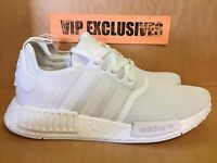 Adidas NMD R1 Triple White 2.0 Nomad Runner Reflective 3M BA7245 SHIPPING NOW