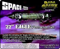 "Paragrafix PGX199 1/48 Space 1999 22"" Eagle Photoetch Set For MPC825"