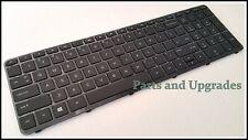 HP 15-F209WM 15-F059WM 15-F085WM5 15-F211WM 15-F272WM US Keyboard With Frame NEW