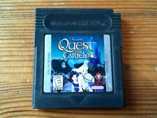 QUEST FOR CAMELOT - NINTENDO GAME BOY COLOR GBC GAME / GBA COMPATIBLE - VGC