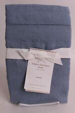 NWT Pottery Barn Belgian Flax Linen sham, Standard, chambray blue