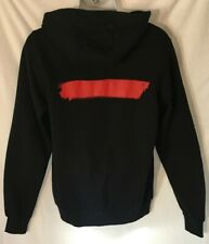 Depeche Mode Black and Red Large Hoodie Sweatshirt Spirit Tour Official NWOT