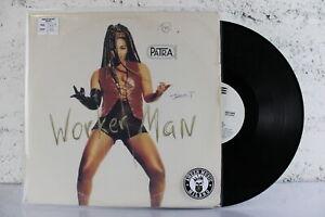 "Worker Man Patra Raggae HipHop 1993 Sony Vinile 33 giri Vinyl lp 12"" pollici"