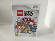 LEGO Rock Band - Nintendo Wii / Wii U Fast P&P Music, Songs, Rockband