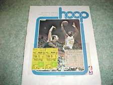1977 Indiana Pacers v Milwaukee Bucks Basketball Program 3/12 with tickets