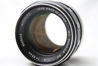 Minolta MC Rokkor-PF 1:1.4 58mm Lens #is026c