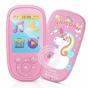 Bluetooth Kids MP3 Player, Birthday Gift Reward for kids, Music Player