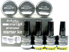 Artistic Nail Design UV/LED Smart System STARTER KIT Building Gel --Ready Ship--