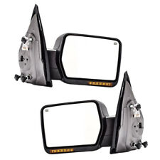 Textured Driver Side Mirror Power Manual Folding Heated w//Signal 128-800