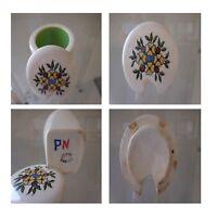 Übertopf Senf Keramik Steingut Gien Jugendstil Design Xx Pn Frankreich N114