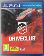 JEU PS4 - DRIVE CLUB - Version FR