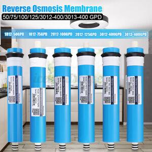 Umkehrosmose Wasserfilter Osmoseanlage Membran Wasserfilteranlage 50-400GPD D